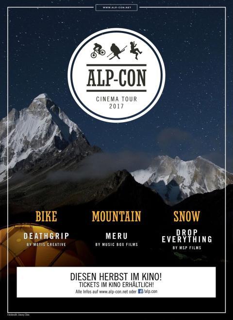 Alp-Con Cinema Tour 2017: Bike