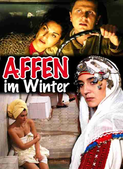 Affen im Winter - Monkeys in winter